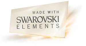 Made with Swarowski elements