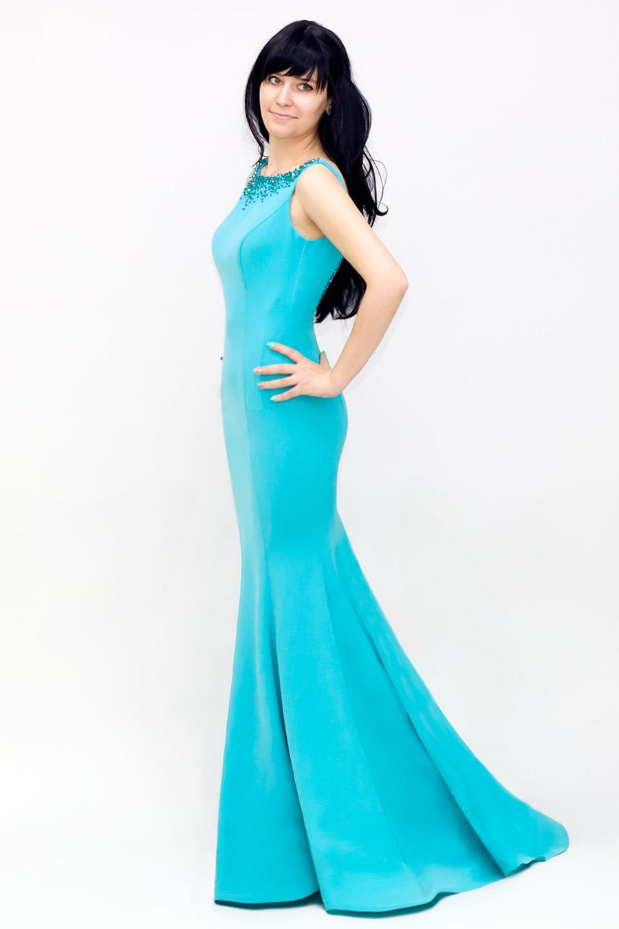 Цвет Тиффани Купить Платье