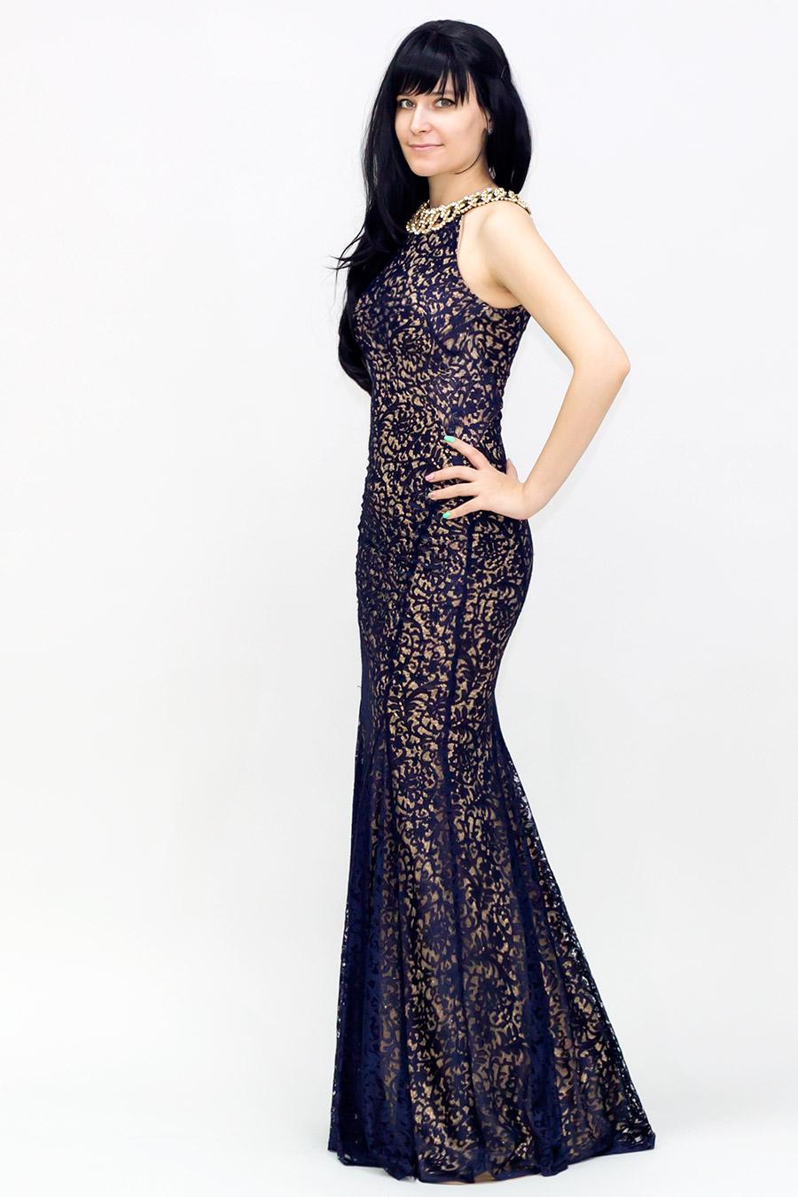 Платье длиное в пол на выпускной фото